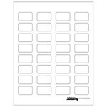 Labels-U-Create Blank Label Packs