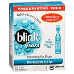 Blink Tear Drops 0.25%, 0.4mL - Preservative Free