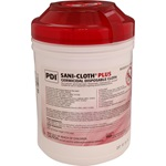 General Disinfectant Wipes - Sani-Cloth Plus Large, Wipe Canister