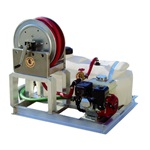 25 Gallon Fire Suppression Skid