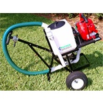 Deice Granular Blower/Spreader Push Cart
