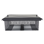 BLACK MULTI-PURPOSE CHIMNEY CAP