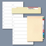 COL'R'TAB® II File Folder Label Refill Packs