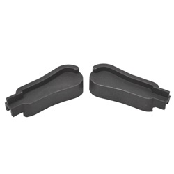 Windshield weatherstrip cap