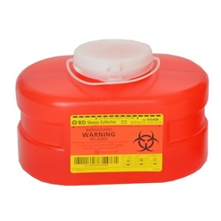 3.3 Quart Red Container - Non-Locking Funnel Lid