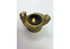 Threaded Coupling, Brass
