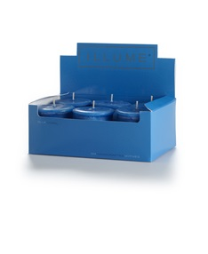 Blue Coral 6-pack Votive Candle Set