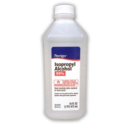Isopropyl Alcohol 99%, 16 oz.
