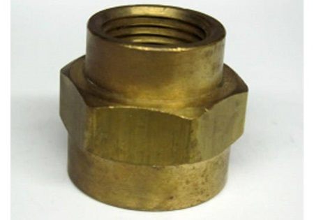 Cci Brass 38 Fpt X 14 Fpt Bell Reducer