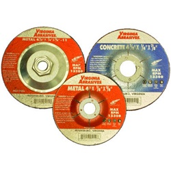 Depressed Center Grinding Wheels - Reinforced Type 27 - Metal