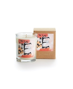 Monogram E Boxed Votive