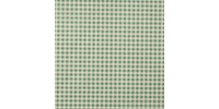 "GINGHAM GREEN TISSUE 15"" X 20"""