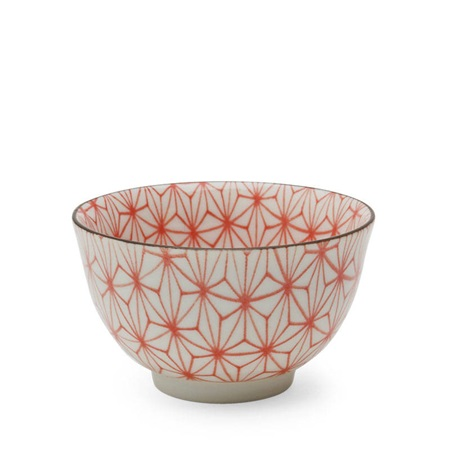 Asanoha Colors 5 Oz. Teacup - Red