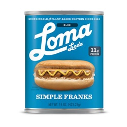 Loma Linda Blue Simple Franks - 20oz