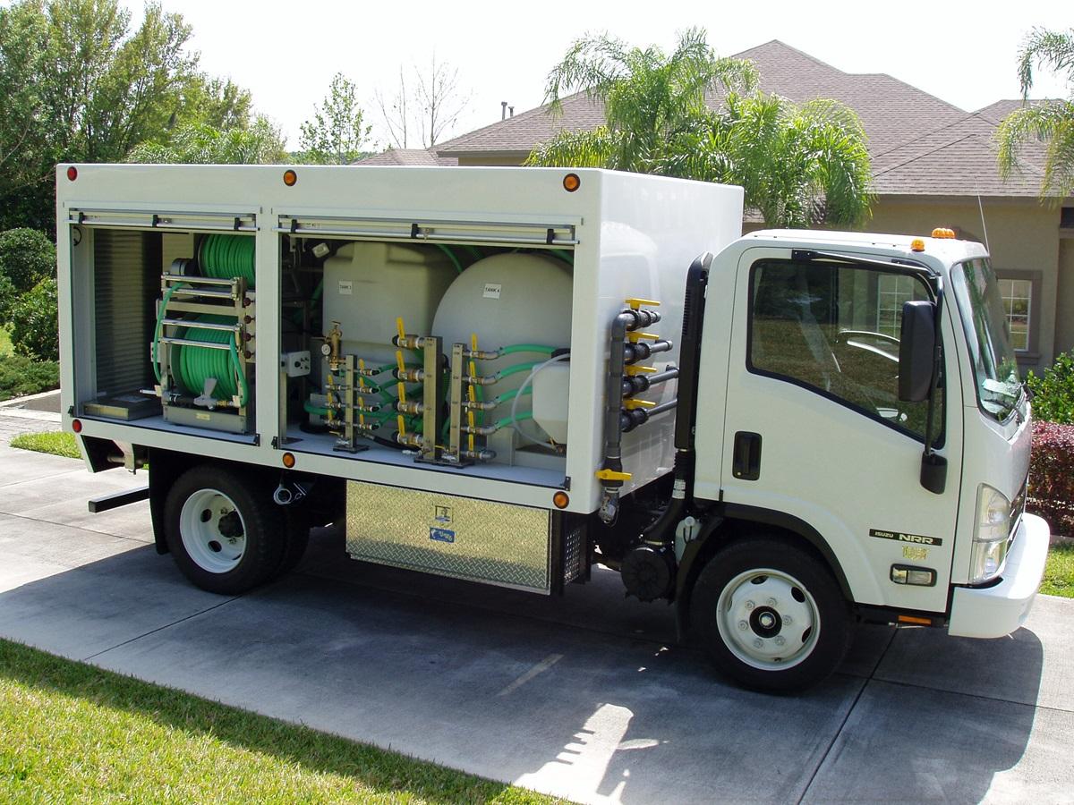 CCI - Custom Lawn & Shrub Spray Truck For Sale | 1200 Series