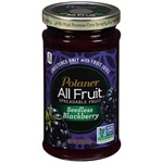 Polaner All Fruit Spread, Seedless Blackberry - 10oz