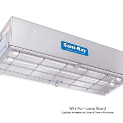 Sani•Ray Wire Form Lamp Guard