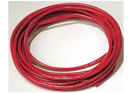 2/0 Gauge Battery Cable - Red