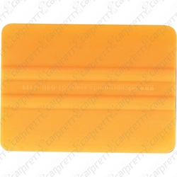 "4"" Rounded Orange Bondo Card"
