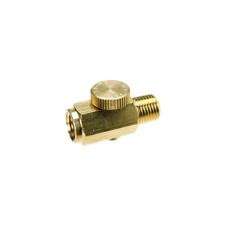 Brass Air Inline Regulator