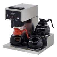 Bloomfield 8571-D3 3 Burner Pour-Over Brewer