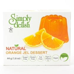 Orange Jel Dessert (Gelatin Free) - 1.6oz