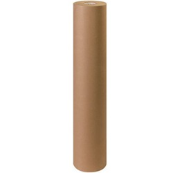 "48"" X 600' 60 LB BROWN KRAFT PAPER ROLL"