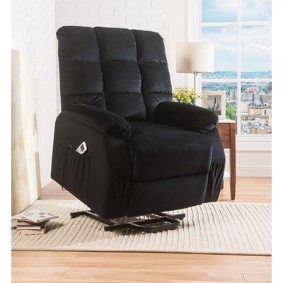 59262 BK RECLINER W/P.LIFT & MASSAGE