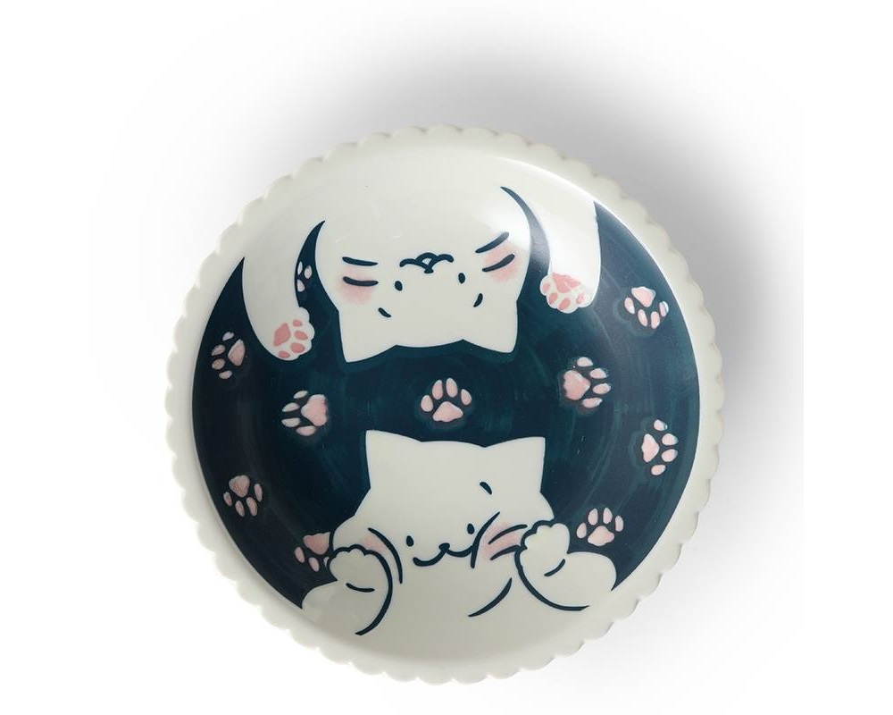 "Cat Life 8.25"" Plate"