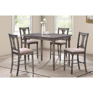 71475 5PC COUNTER HEIGHT TABLE SET
