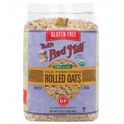 Oats, Regular Rolled, Gluten Free (Organic)