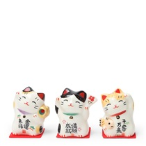 Ceramic Figurine - Fortune Cat