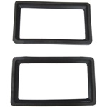 Parking lamp lens gasket