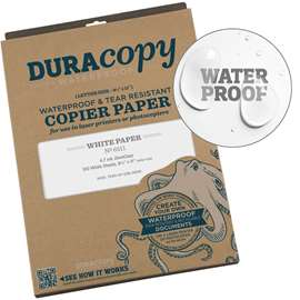 DuraCopy Waterproof Printer Sheets