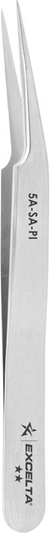 "Tweezer - **- Offset Tapered Ultra Fine - 4.5"" SS/"