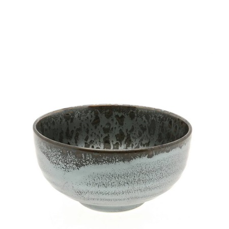 Silver Blue Granite Design Bowl 5""