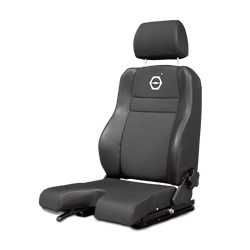 70.487 Koenig Cloth U-Cut Seat
