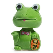 BOBBLE HEAD FROG