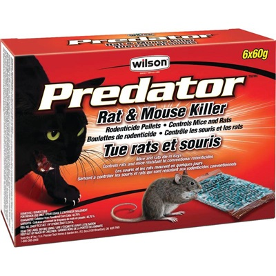 Wilson Predator Rat And Mouse Pellets