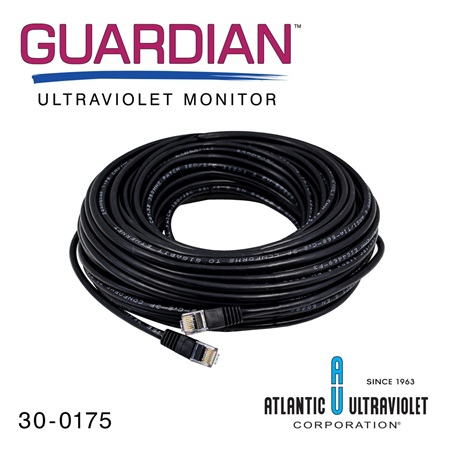RJ45 Modular Cable for GUARDIAN™ Ultraviolet Monitors (100 ft. L