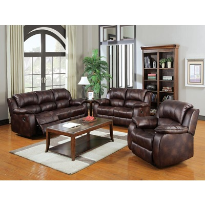 50510 BROWN P-MFB SOFA W/MOTION