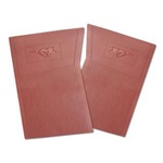 PVC Pony Floor Mats (Dark Red)