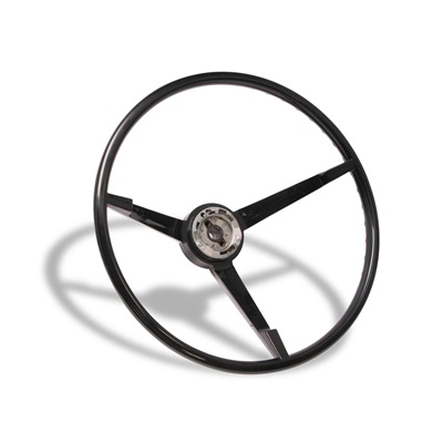 1967 Standard Steering Wheel (Black)