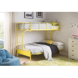 02081YL YELLOW T/F BUNKBED KD VERSION