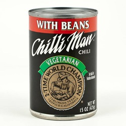 Chili Man® Chili, Vegetarian  - 15oz (Case of 12)