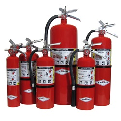 Amerex ABC-rated Multipurpose Dry Chemical Fire Extinguishers
