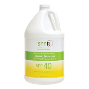SPF RX Mineral Sunscreen Broad Spectrum SPF 40, Bulk