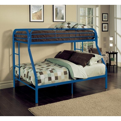 02053BU TRITAN BLUE T/F BUNK BED