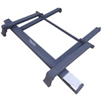 Auto Fold-up Bumper without Pintle Hook for Galbreath Models IX & EX