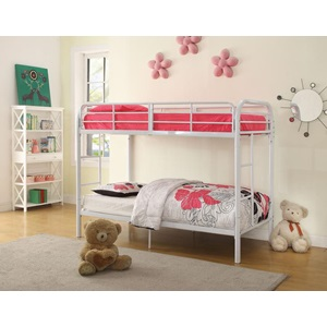 02178WH WHITE T/T BUNKBED